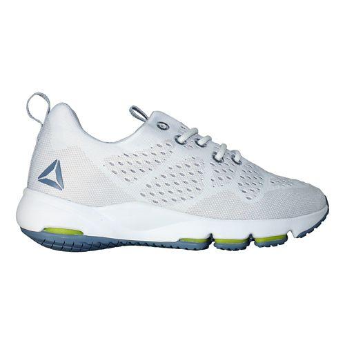Womens Reebok Cloudride LS DMX Walking Shoe - White/Light Grey 9.5