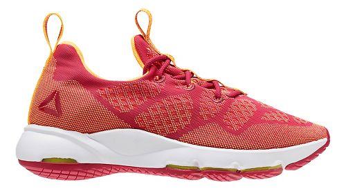 Womens Reebok Cloudride LS DMX Walking Shoe - Red/Orange 7