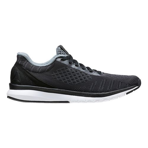 Womens Reebok Print Smooth ULTK Running Shoe - Black/White 11