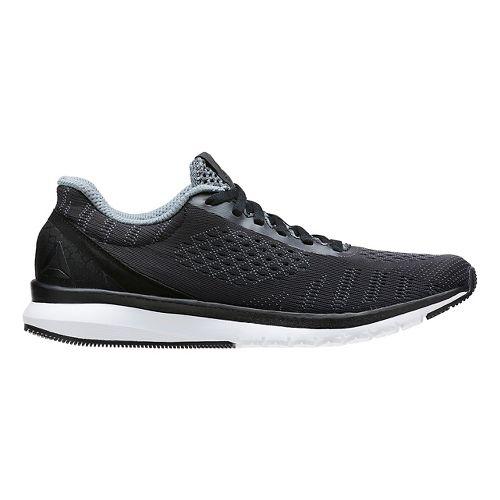 Womens Reebok Print Smooth ULTK Running Shoe - Black/White 6