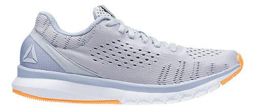 Womens Reebok Print Smooth ULTK Running Shoe - Grey/White 6.5