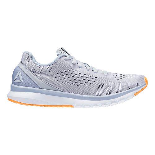 Womens Reebok Print Smooth ULTK Running Shoe - Grey/White 7