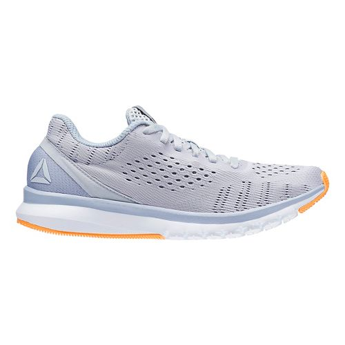 Womens Reebok Print Smooth ULTK Running Shoe - Grey/White 8.5