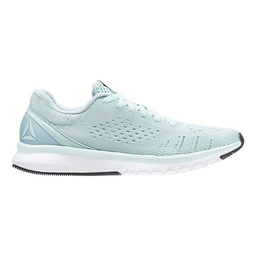 Womens Reebok Print Smooth ULTK Running Shoe - Mint/White 9