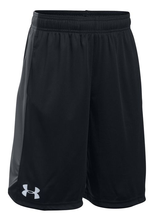 Under Armour Boys Eliminator Shorts - Black/Black/Graphite YL
