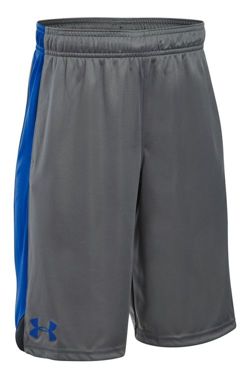 Under Armour Boys Eliminator Shorts - Graphite/Black/Royal YXS