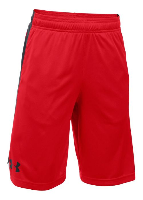 Under Armour Boys Eliminator Shorts - Red/Black YL