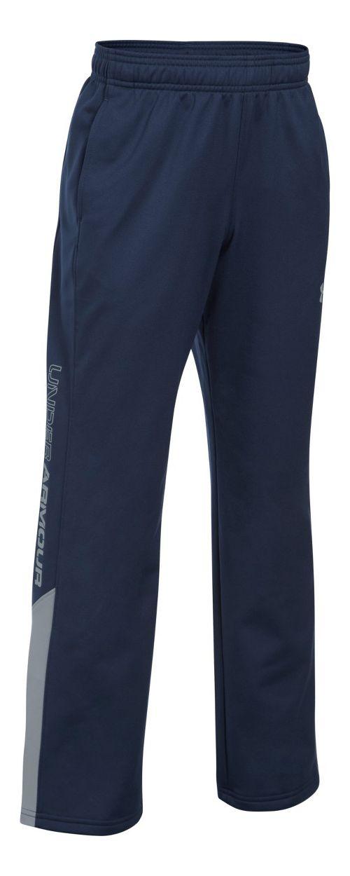 Under Armour Boys Brawler 2.0 Pants - Navy/Steel YM