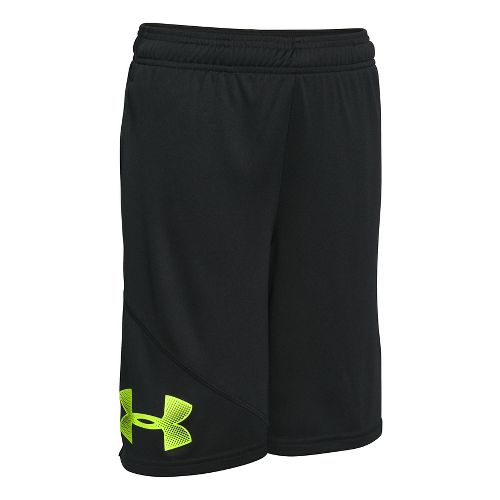 Under Armour Boys Tech Prototype Shorts - Black/Green YM