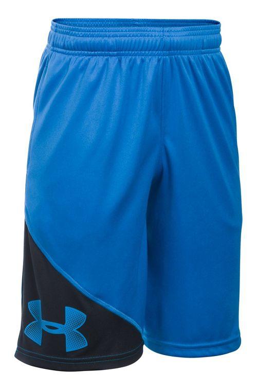 Under Armour Boys Tech Prototype Shorts - Black/Graphite YL