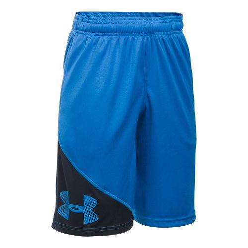 Under Armour Boys Tech Prototype Shorts - Midnight Navy YS