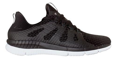 Womens Reebok ZPrint HER MTM WVN Running Shoe - Black/White 9.5