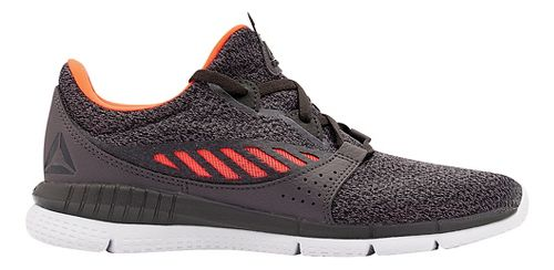 Womens Reebok ZPrint HER Elle MTM Running Shoe - Dark Grey/Orange 9
