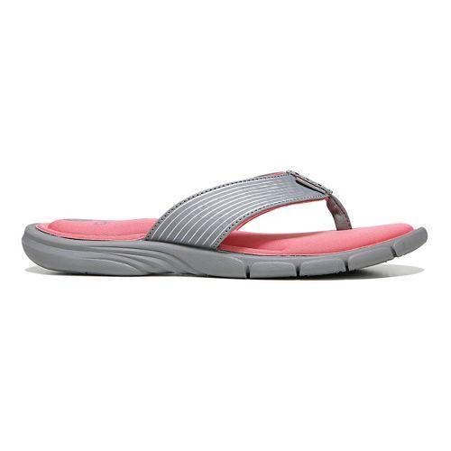 Womens Ryka Refresh Sandals Shoe - Black/Mint 10