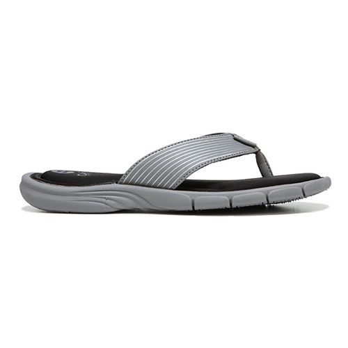 Womens Ryka Refresh Sandals Shoe - Grey/Black 11