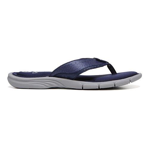 Womens Ryka Refresh Sandals Shoe - Red/Blue 8