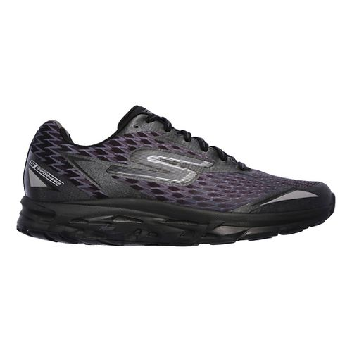 Mens Skechers GO Run Forza 2 Running Shoe - Black/Black 14