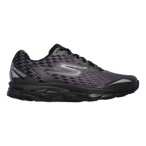 Mens Skechers GO Run Forza 2 Running Shoe - Black/Black 8