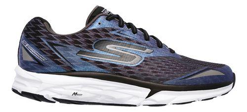 Mens Skechers GO Run Forza 2 Running Shoe - Black/White 10