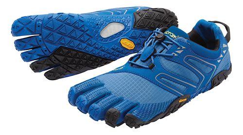 Mens Vibram FiveFingers V-Trail Running Shoe - Blue/Black 43