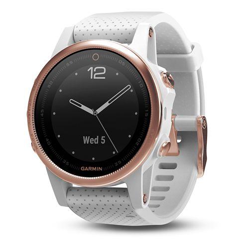 Garmin fenix 5S Sapphire GPS Watch Monitors - Rose Goldtone