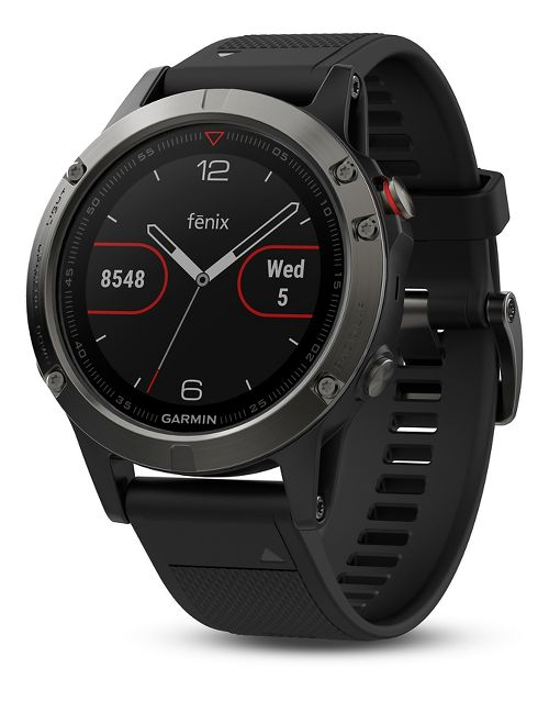 Garmin fenix 5 GPS Watch Monitors - Slate Grey/Black