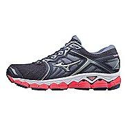 Womens Mizuno Wave Sky Running Shoe - Grey/Pink 8