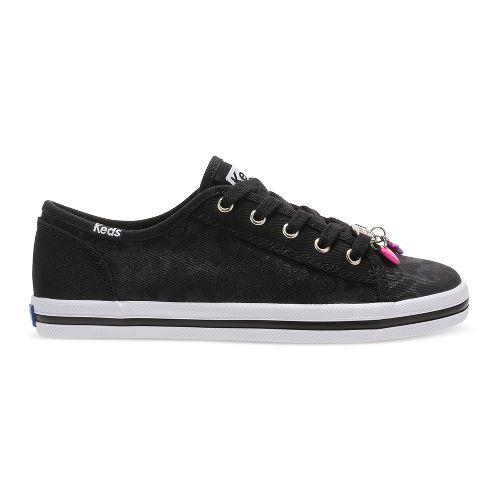 Keds Kickstart Charm Walking Shoe - Black 13.5C
