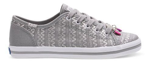 Keds Kickstart Charm Walking Shoe - Silver 13.5C