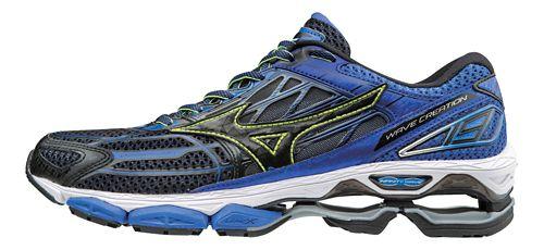 Mens Mizuno Wave Creation 19 Running Shoe - Blue/Black 12