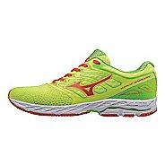 Mens Mizuno Wave Shadow Running Shoe - Yellow/Red Orange 9.5