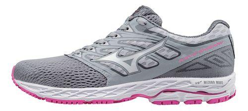 Womens Mizuno Wave Shadow Running Shoe - Light Grey/White 11