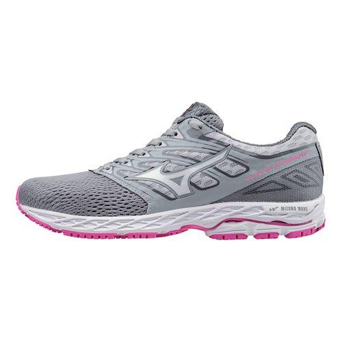 Womens Mizuno Wave Shadow Running Shoe - Light Grey/White 7