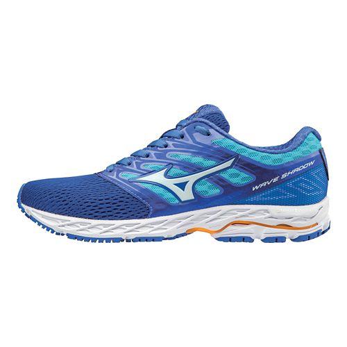 Womens Mizuno Wave Shadow Running Shoe - Blue 10