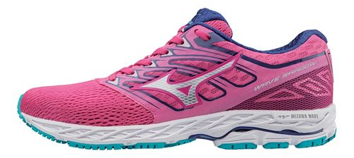 Womens Mizuno Wave Shadow Running Shoe - Fuchsia/Silver 7.5