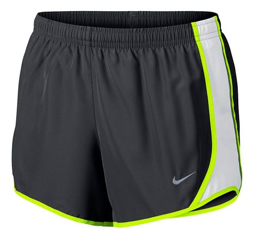 Nike Girls Dry Tempo Shorts - Anthracite/White YS