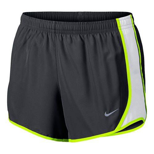 Nike Girls Dry Tempo Shorts - Anthracite/White YS