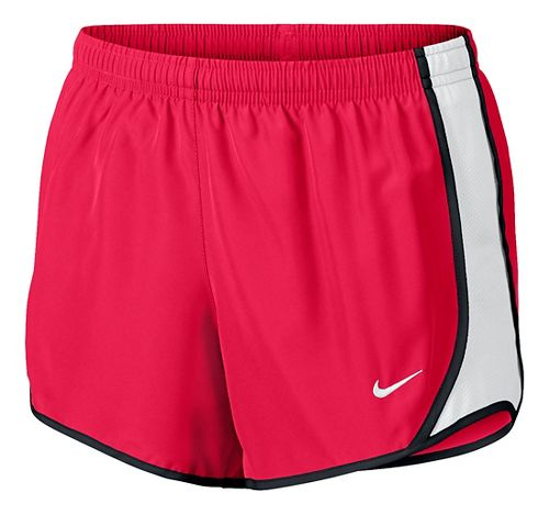 Nike Girls Dry Tempo Shorts - Racer Pink/White YXL