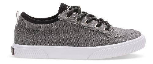 Sperry Top-Sider Deckfin Casual Shoe - Black Chambray 5Y
