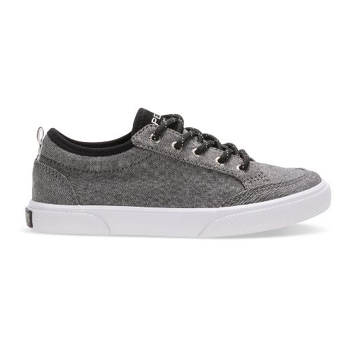 Sperry Top-Sider Deckfin Casual Shoe - Black Chambray 6Y