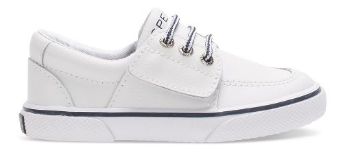 Sperry Top-Sider Ollie Jr. Leather Casual Shoe - White 10C