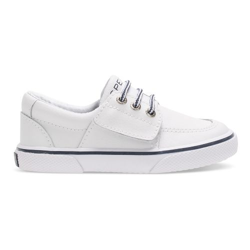 Sperry Top-Sider Ollie Jr. Leather Casual Shoe - White 10.5C