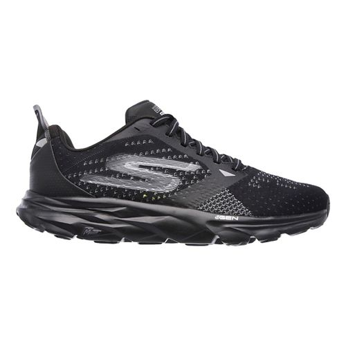 Mens Skechers GO Run Ride 6 Running Shoe - Black 12.5