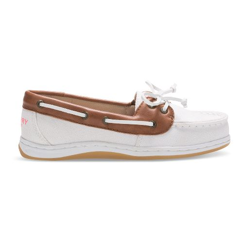 Sperry Top-Sider Firefish Casual Shoe - White Sparkle 3Y