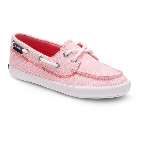 Sperry Top-Sider Sayel Casual Shoe - Pink Diamond 2Y