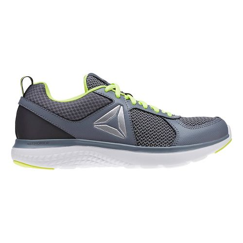 Reebok Astroride Running Shoe - Grey/Yellow 4.5Y