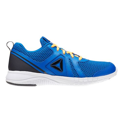 Reebok Print Run 2.0 Running Shoe - Blue/Black 4.5Y