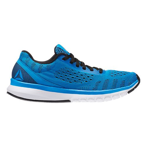 Reebok Print Smooth ULTK Running Shoe - Blue/Black 5Y