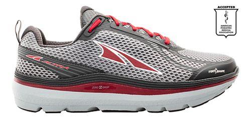 Mens Altra Paradigm 3.0 Running Shoe - Grey/Red 12