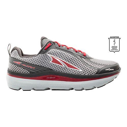 Mens Altra Paradigm 3.0 Running Shoe - Grey/Red 11